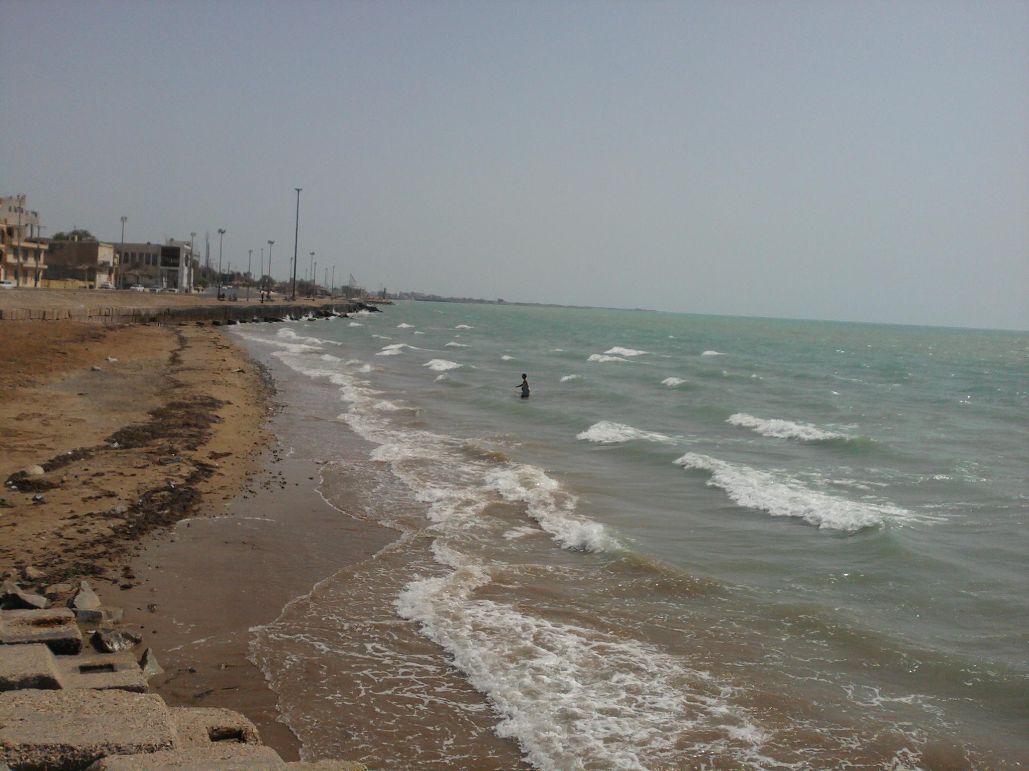 ساحل زیبای بندر بوشهر